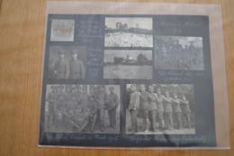 WW1 Krieg : Double Page Album Sous-officier Allemand 1918 (4X Ostende) - 1914-18