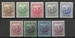 Barbados 1921 Incomplete Set - Barbados (...-1966)