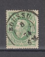 COB 30 Oblitération Centrale Double Cercle BOUSSU +4 - 1869-1883 Léopold II