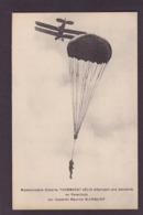 CPA Parachutisme Parachute Mademoiselle Gilberte Thommeret Gélis Blanquier Non Circulé Woman - Parachutting