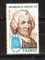 Francia - 1979. Maresciallo Di Francia  De Bercheny. MNH - Celebrità