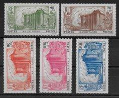 MAURITANIE - SERIE 150° ANNIVERSAIRE DE LA REVOLUTION - YVERT N° 100/104 ** MNH - COTE = 97.5 EUR. - Mauritania (1906-1944)