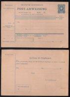 ALLEMAGNE - FORMULE DE MANDAT  /1880 MICHEL A 1 I / COTE 32.00 EUROS (ref 7671a) - Alemania
