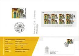 CYPRUS 2018 Notice Leaflet EUROMED Joint Issue Mediterranean Houses Méditerranée Häuser Casas Mittelmeer - Emissions Communes