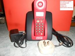 Telefono Fisso Cocacola - Vedi Condizioni Nelle Foto------------------------------------416 - Coca-Cola