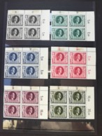 GERMANY 1943 The 54th Anniversary Of The Birth Of Adolf Hitler  6 BLOCKS OF 4 STAMPS  NEW STAMPS (e+d) - Deutschland