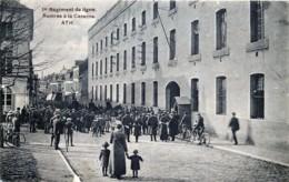 Belgique - Ath - 1er Régiment De Ligne - Rentrée à La Caserne - Ath