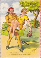 CPSM - Illustrateur - Jean Chaperon - Militaria - Il Me Semble Que Vous Allez Un Peu Vite...1164 - Chaperon, Jean