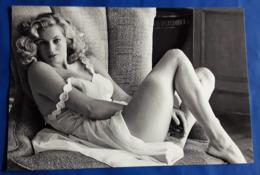 ANITA EKBERG # Sexy Pin-Up Portrait # Großes XXL-Star-Photo, Ca. 30,5 X 20,5 Cm # [19-4080] - Fotos