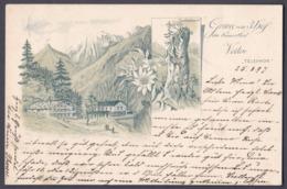 Sem_  AK Gruss Vom 3. Hof Im Kaiserthal Veiten Kufstein - Gebraucht Used - 1897 - Kufstein