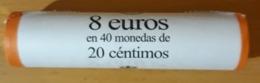 ESPAÑA 2016. CARTUCHO DE 0.20 CÉNTIMOS - 40 MONEDAS.. - España