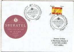 PRAGA CORREO ESPAÑOL  MAT SBERATEL 2019 - 1931-Hoy: 2ª República - ... Juan Carlos I