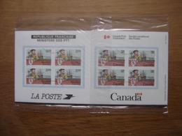 Émission Commune France Canada 1984 Jacques Cartier 400e Anniversaire - Souvenir Blocks