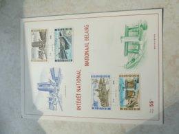 Timbre Belgique  Carte Souvenir Ronquieres Lissewege 1968 - Cartes Souvenir