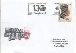 MADRID CC CON MAT PRIMER DIA 130 ANIVERSARIO UGT SINDICALISMO SOCIALISMO PSOE - 1931-Hoy: 2ª República - ... Juan Carlos I