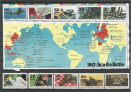 USA 1992 WWII 1942 From Sheet Y.T. 2099/2108 ** - Vereinigte Staaten