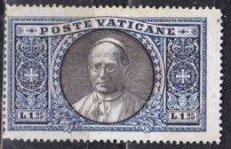 Città Del Vaticano, 1933 - 1,25 Lire, Giardini E Medaglioni - Nr.29 SG - Neufs