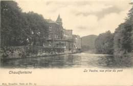 Belgique - Chaudfontaine - La Vesdre Vue Prise Du Pont - Nels Série 96 N° 23 - Chaudfontaine