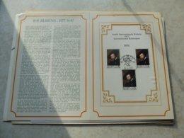 Timbre Belgique Carte Souvenir 1977 Rubens Bloc 52 - Cartes Souvenir