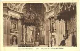 Roma - Interieur De L'Eglise St Pierre - San Pietro