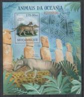 Mozambique 2012 Prehistory Prehistoire Moas Ile De Pâques  MNH - Prehistorie