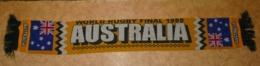 VERITABLE Echarpe RUGBY WORLD RUGBY FINAL 1999 AUSTRALIE AUSTRALIA BE RARE  BON ETAT - Rugby