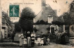 VANCÉ - La Rue Des Ecoles (très Animée) - France