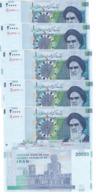 Iran - 5 Pcs X 20000 Rials 2014 UNC P. 153(1) Lemberg-Zp - Iran
