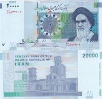 Iran - 20000 Rials 2014 UNC P. 153(1) Lemberg-Zp - Iran