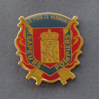 1 Pin's Sapeurs Pompiers De LE PUID LE VERMONT (VOSGES - 88) - Pompiers