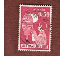 SOUTH VIETNAM  -  SG  S59  -  1958  CHILDREN FESTIVAL: GIRL            -  USED - Vietnam