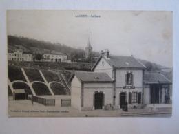 54 Meurthe Et Moselle Lagney La Gare - Gares - Sans Trains