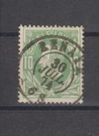 COB 30 Oblitération Centrale Double Cercle RENAIX +4 - 1869-1883 Léopold II