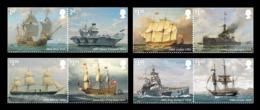 Great Britain 2019 Mih. 4442/49 Royal Navy Ships (I) MNH ** - 1952-.... (Elisabeth II.)