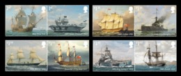 Great Britain 2019 Mih. 4442/49 Royal Navy Ships (I) MNH ** - 1952-.... (Elizabeth II)
