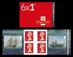 Great Britain 2019 Mih. 4450/51 Royal Navy Ships (I) (booklet) MNH ** - 1952-.... (Elizabeth II)