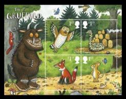 Great Britain 2019 Mih. 4466/69 (Bl.128) Gruffalo Children's Book MNH ** - 1952-.... (Elizabeth II)