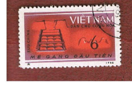 NORTH VIETNAM - SG N294  -     1964 FIVE YEAR PLAN: IRON         -  USED - Vietnam
