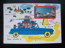 "Carte Postale "" Bien Arrivés à Mérignac"" - Merignac"
