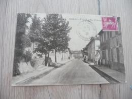 CPA 13 Bouches Du Rhône Calas Rue Principale - France