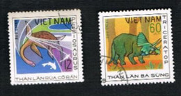 VIETNAM - SG 249  -     1979  PREHISTORIC ANIMALS: TRICERATOP      -  USED - Vietnam