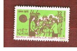 VIETNAM - SG 306  -     1979  PEOPLE ARMY ANNIVERSARY      -  USED - Vietnam