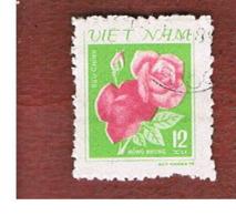 VIETNAM - SG 313  -     1980 FLOWERS: ROSES     -  USED - Vietnam