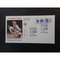 FDC - Championnat Du Monde De Judo, Oblit 1/7/2011 Paris - FDC