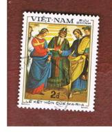 VIETNAM - SG 576  -     1983   RAFFAELLO: MARY MARRIAGE      -  USED - Vietnam