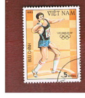 VIETNAM - SG 596  -     1983   OLYMPIC GAMES: SHOT PUT     -  USED - Vietnam
