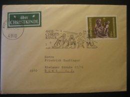 Österreich- Christkindl 29.12.1972 Mit LZ Ried/Innkreis - 1971-80 Covers