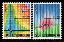 Luxemburg 1995 Europa Peace & Liberty Y.T. 1318/1319 ** - Ongebruikt