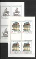 O-245-CZECHOSLOVAKIA - EMISION PRAGUE  CASTLE 1982  -CAT. MICHEL NUMMER TL 2675-2676 MNH** - Blocks & Sheetlets