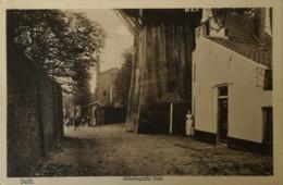 Delft // Wateringsche Vest Met Onderzijde Molen Militair Post 1916 - Delft